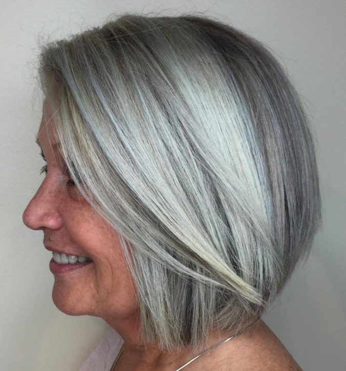 gray-hair-675x723 15 Beautiful Gray Hairstyles that Suit All Women Over 50