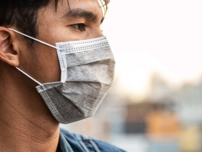 man-wearing-face-mask-675x507 How to Look Your Best While Wearing a Mask – Tips for Men and Women