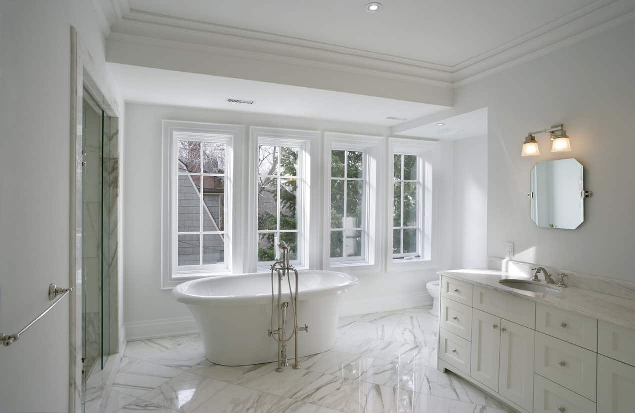 All-whites-design Top 10 Outdated Bathroom Design Trends to Avoid in 2021