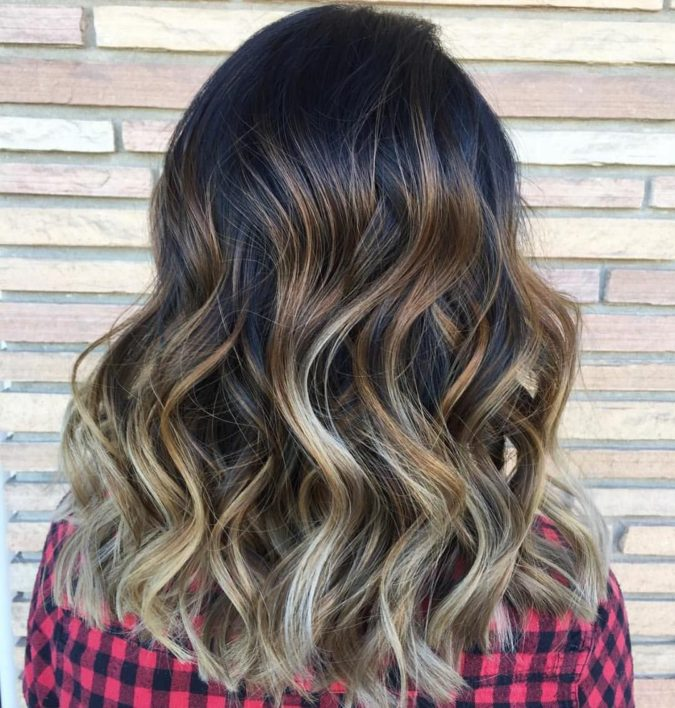 Black-Brown-and-Blonde.-675x708 10 Hottest Hair Color Trends to Cover Gray Hair