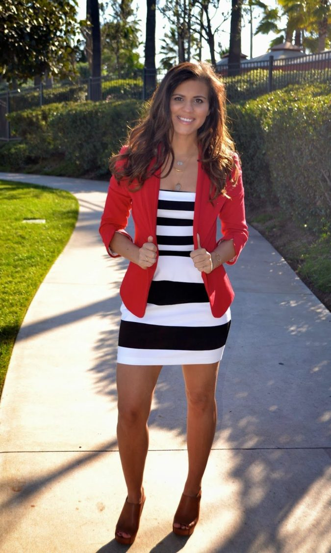 Black-White-and-Red-Outfit.-2-675x1126 +45 Stylish Women's Outfits for Job Interviews for 2020