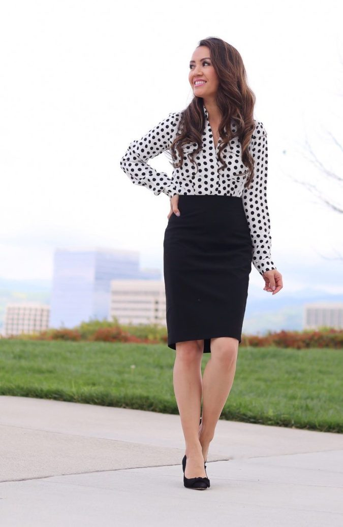 Black-white-outfit-3-675x1038 +45 Stylish Women's Outfits for Job Interviews for 2020