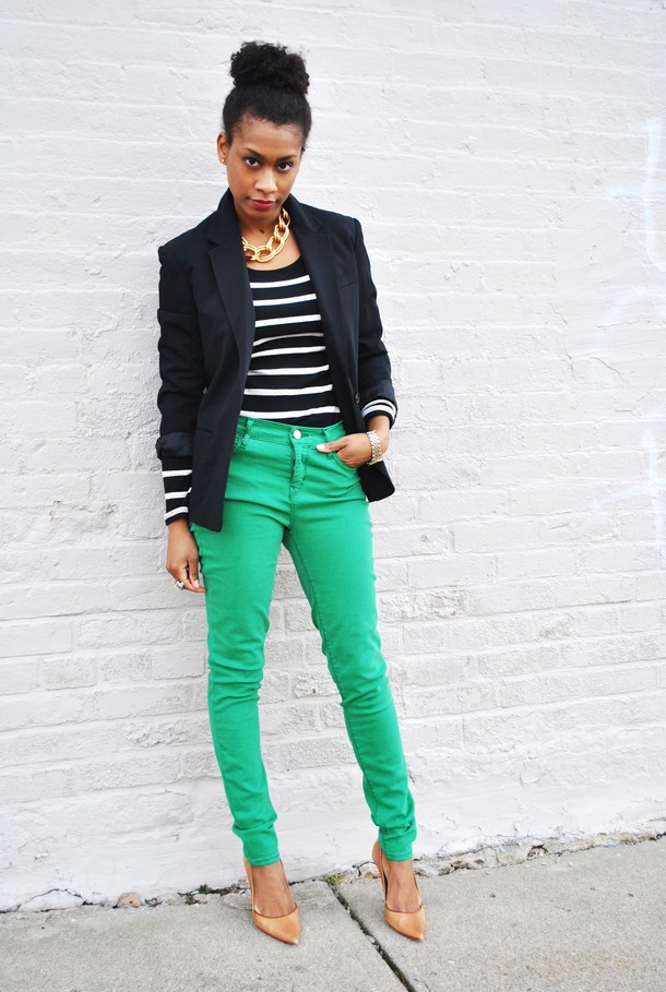 Blazer-and-Brights-1 +45 Stylish Women's Outfits for Job Interviews for 2021