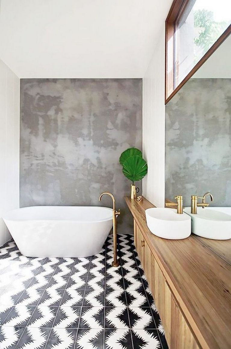 Chevron-pattern-3 Top 10 Outdated Bathroom Design Trends to Avoid in 2021