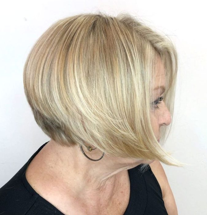 Classic-Blonde-Color..-675x702 10 Hottest Hair Color Trends to Cover Gray Hair