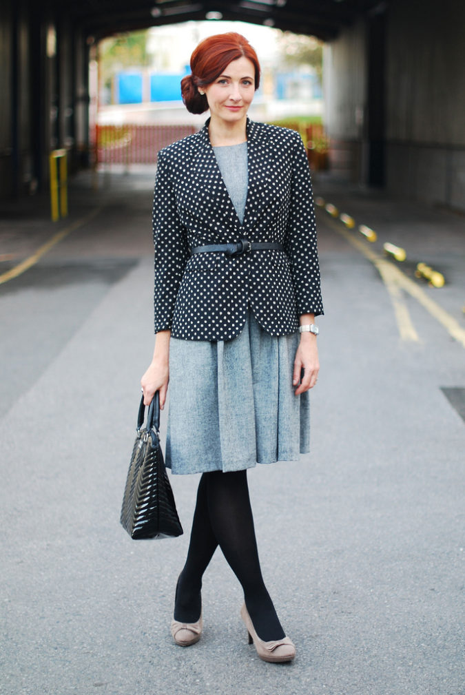 Creative-Interview-Outfit-675x1009 +45 Stylish Women's Outfits for Job Interviews for 2021