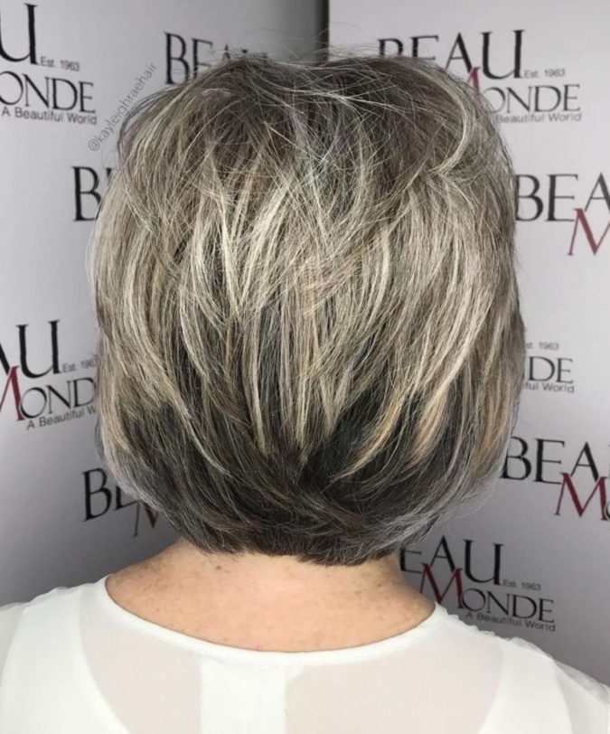 Dark-Hair-with-Blonde-Feathers.-675x812 10 Hottest Hair Color Trends to Cover Gray Hair