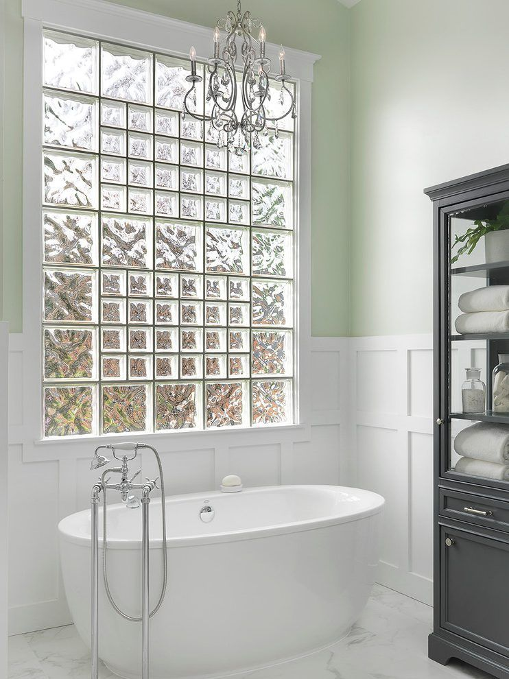 Glass-block-window-1 Top 10 Outdated Bathroom Design Trends to Avoid in 2021