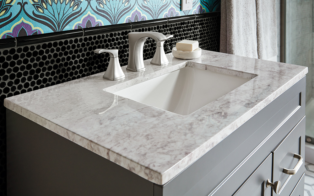 Granite-Material Top 10 Outdated Bathroom Design Trends to Avoid in 2021