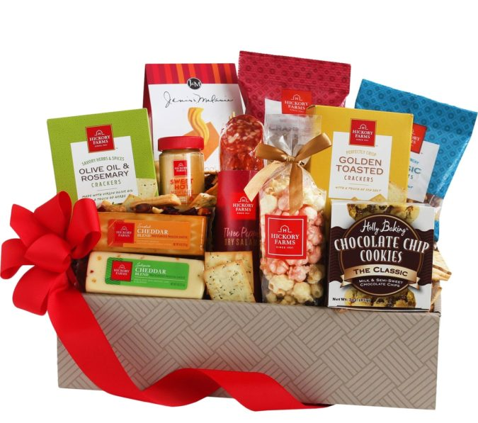 Hickory-Farms-food-gift-basket-e1597250151435-675x597 Gifts for Summer Birthdays