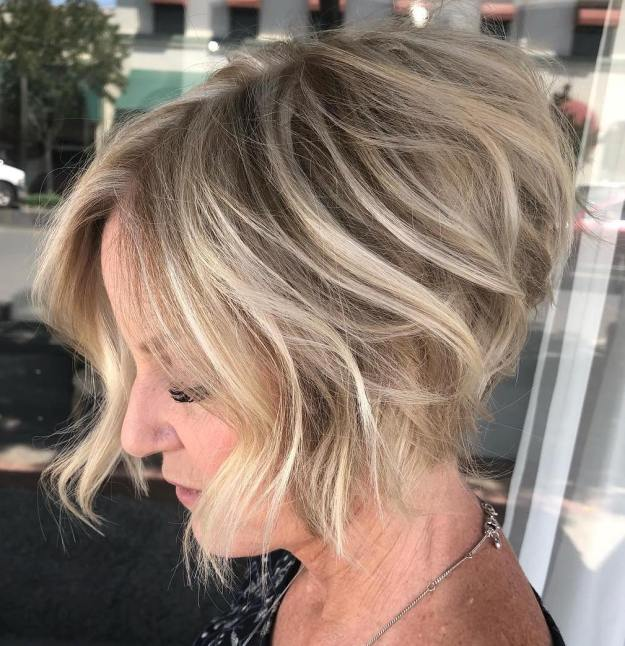 Matte-Beige-Blonde-Hair-Color.-2 10 Hottest Hair Color Trends to Cover Gray Hair