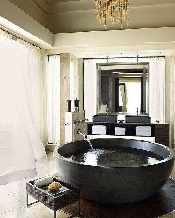 Oversized-tubs-1 Top 10 Outdated Bathroom Design Trends to Avoid in 2021