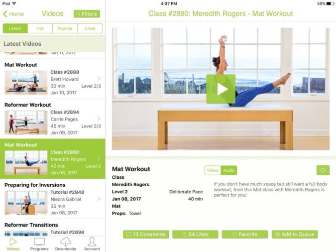 Pilates-Anytime-675x506 Top 7 Women Fitness Apps to Lose Weight Easily