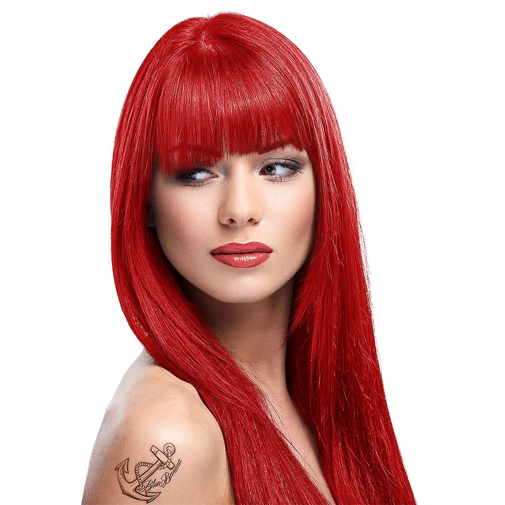 Red-hair-and-red-lipstick. Top 10 Outdated Beauty and Makeup Trends to Avoid in 2020