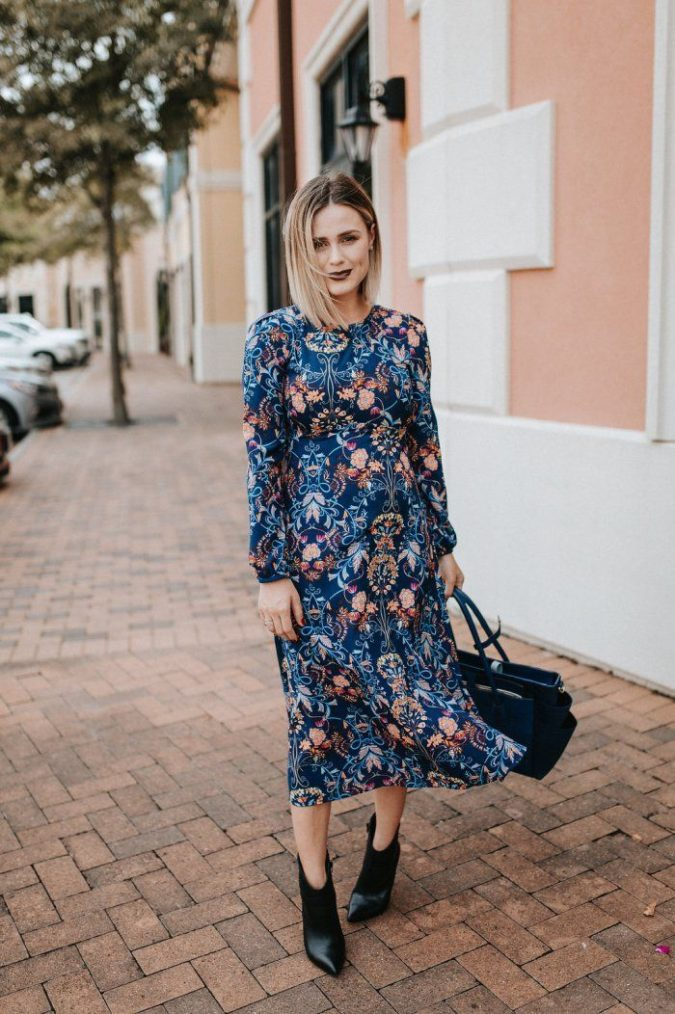 Summer-Dress-1-675x1014 +45 Stylish Women's Outfits for Job Interviews for 2021