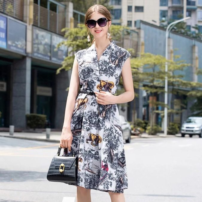 Summer-Dress.-675x675 +45 Stylish Women's Outfits for Job Interviews for 2020