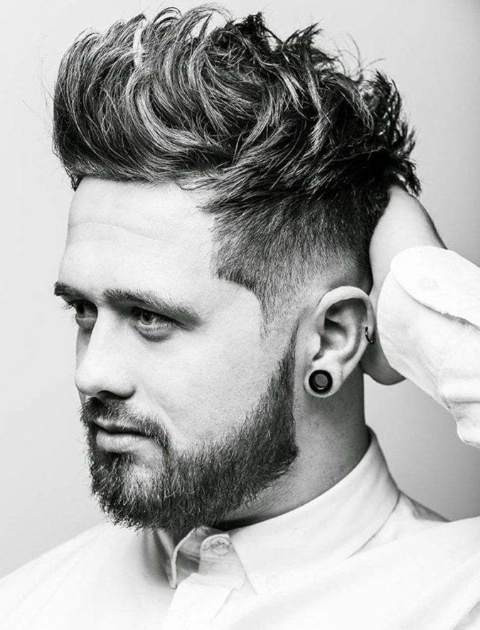 The-Fauxhawk.-675x886 Top 10 Hottest Hairstyles To Suit Men With Round Faces