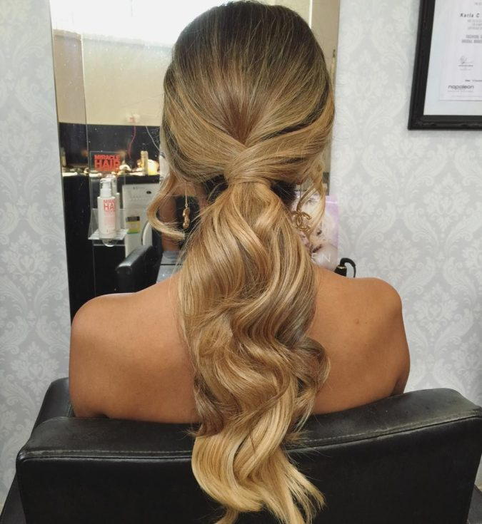 The-Prom-Ponytail.-675x735 +35 Hottest Ponytail Hairstyles that Suit All Women in 2021