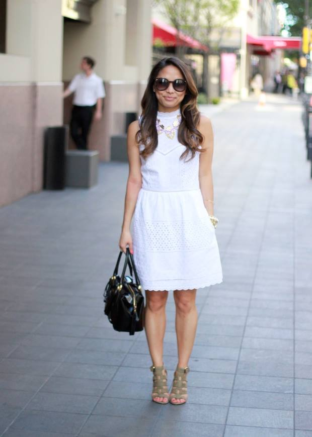 The-White-Dress.-3 +45 Stylish Women's Outfits for Job Interviews for 2020