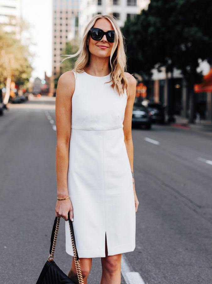 The-White-Dress.-675x906 +45 Stylish Women's Outfits for Job Interviews for 2021