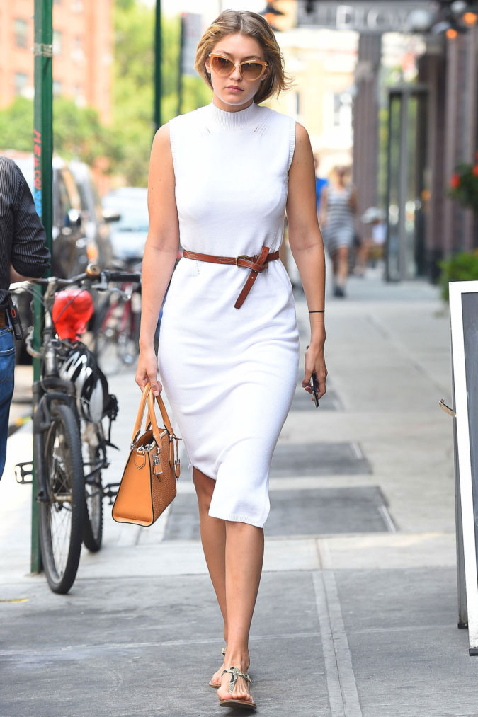 The-White-Dress..-675x1013 +45 Stylish Women's Outfits for Job Interviews for 2021