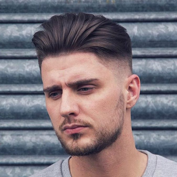 The-classic-pompadour-675x675 Top 10 Hottest Hairstyles To Suit Men With Round Faces