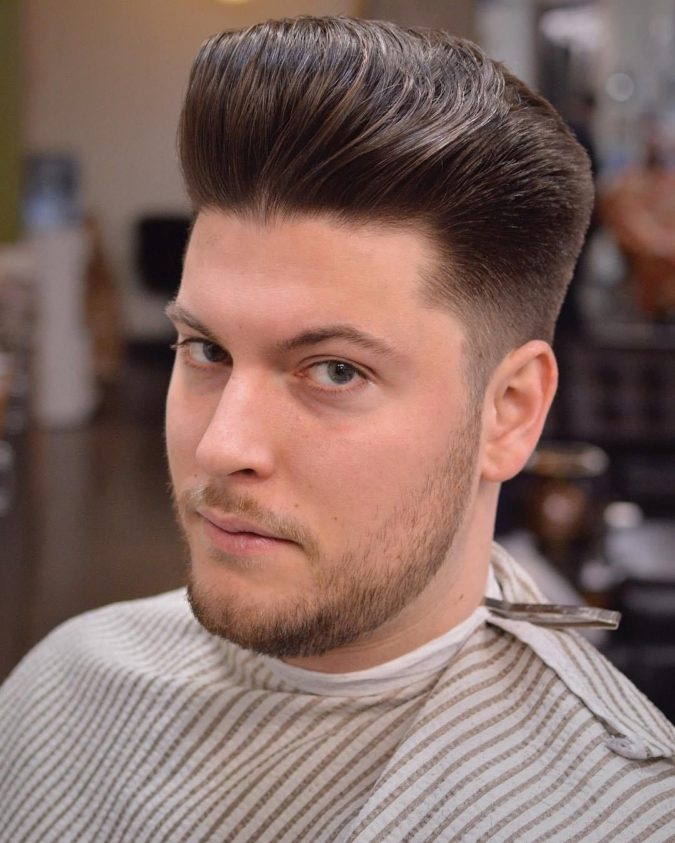 The-classic-pompadour.-1-675x843 Top 10 Hottest Hairstyles To Suit Men With Round Faces