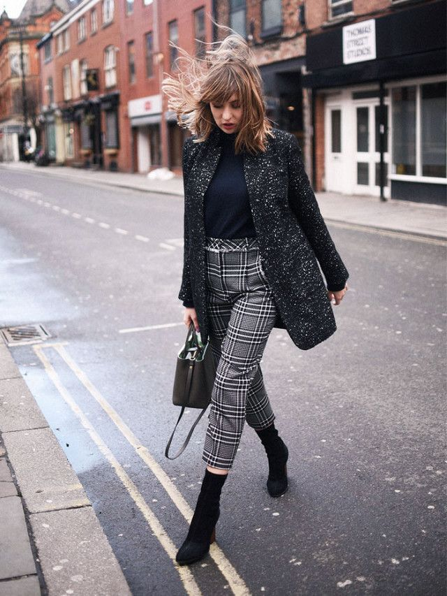 Tweed-Trousers-2 +45 Stylish Women's Outfits for Job Interviews for 2021