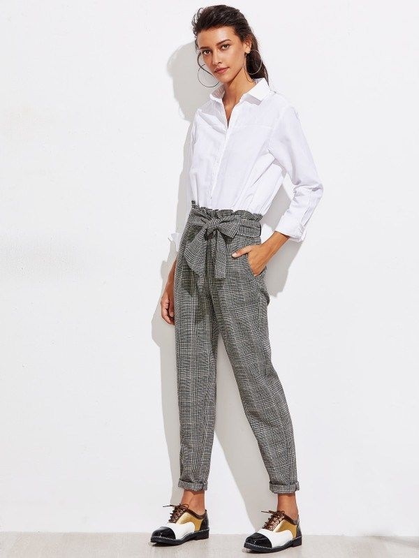 Tweed-Trousers-3 +45 Stylish Women's Outfits for Job Interviews for 2021
