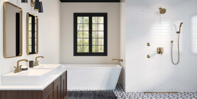 Upgrade-Faucets-675x338 Top 7 Decoration and Update Ideas for a Bathroom