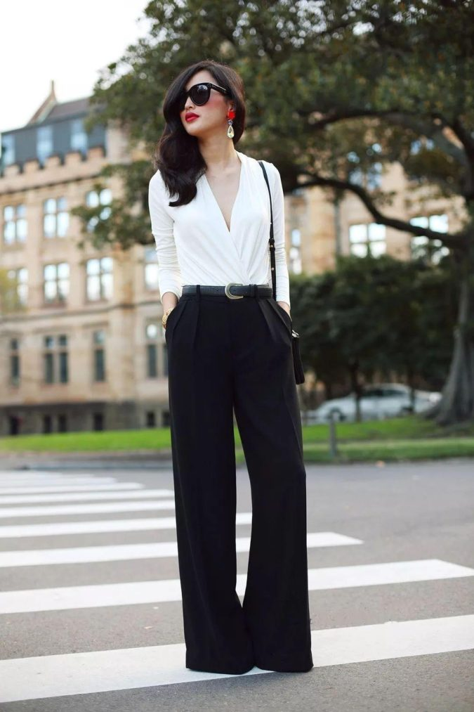 White-blouse-black-pants-2-675x1013 +45 Stylish Women's Outfits for Job Interviews for 2021
