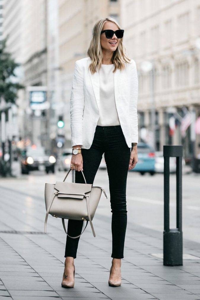 White-blouse-black-pants.-1-675x1013 +45 Stylish Women's Outfits for Job Interviews for 2020