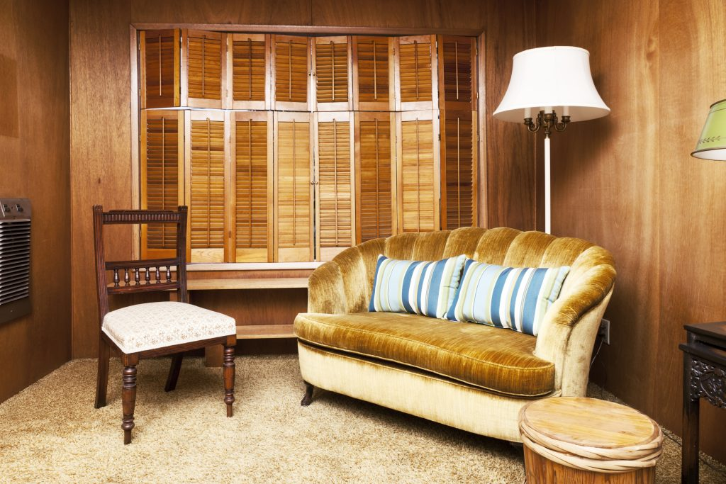 Wood-paneling. Top 10 Outdated Home Decorating Trends to Avoid in 2021