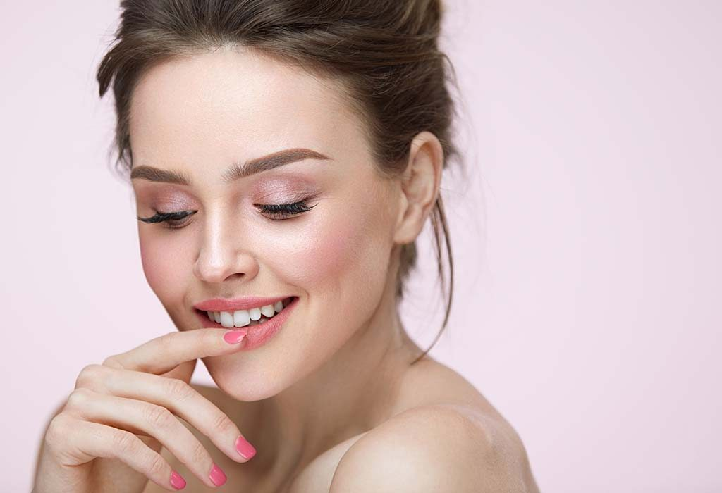"""beautiful-lips How to Get Natural """"No-Makeup"""" Makeup Look for Work (Step by Step)"""