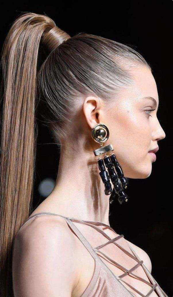 bombshell-ponytail-hairstyle..-1 +35 Hottest Ponytail Hairstyles that Suit All Women in 2021