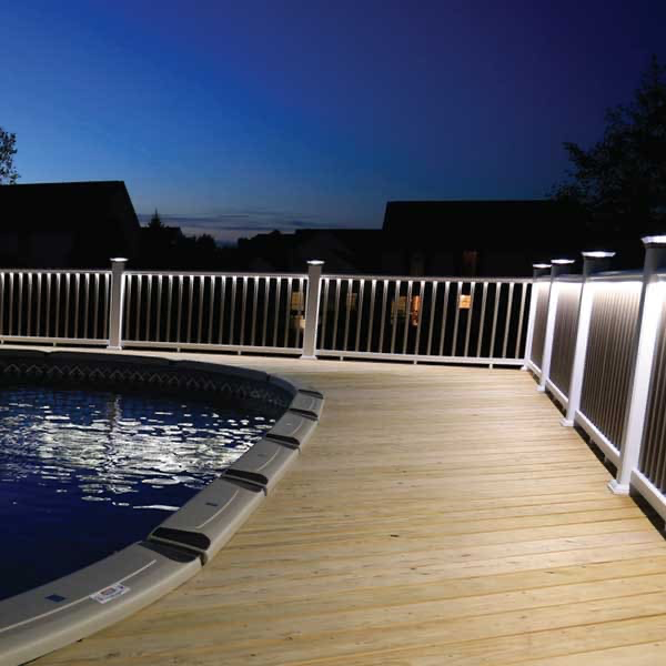 house-deck-lighting-3 4 Simple Steps to Increase the Value of the House with Deck Railing Project Ideas