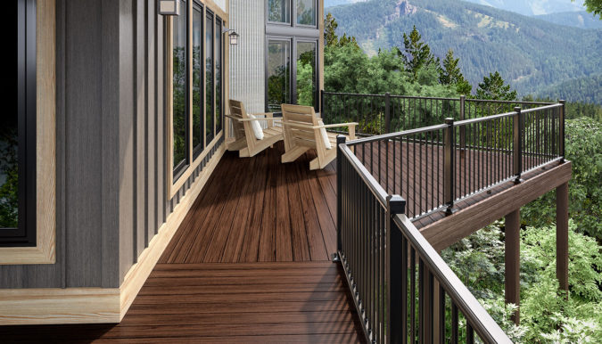 house-wooden-deck-railing-675x386 4 Simple Steps to Increase the Value of the House with Deck Railing Project Ideas