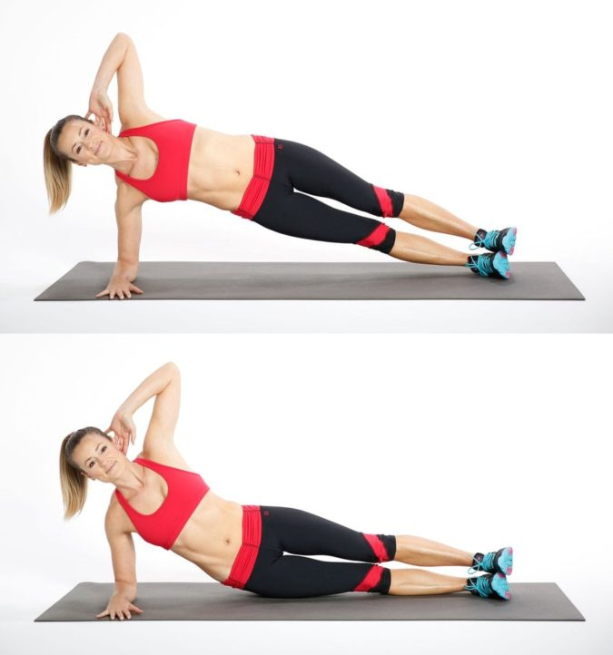 side-hip-exercise-675x722 7 Benefits of GetFit Fitness Mobile App for Your Health
