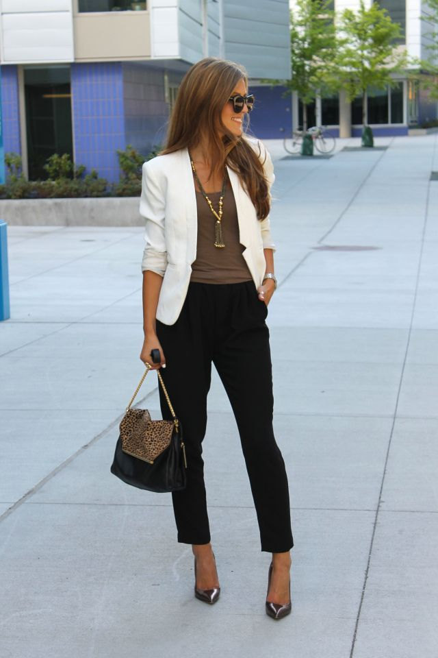 simple-look-1 +45 Stylish Women's Outfits for Job Interviews for 2020