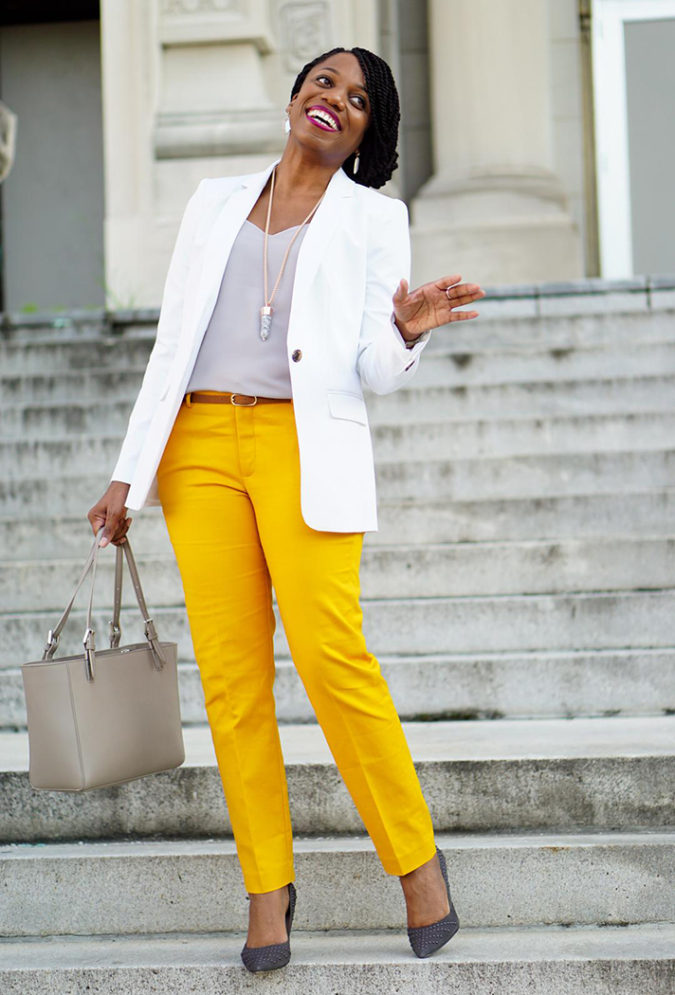 simple-look-675x995 +45 Stylish Women's Outfits for Job Interviews for 2020