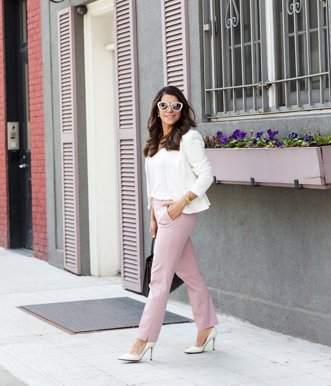 simple-look.. +45 Stylish Women's Outfits for Job Interviews for 2021