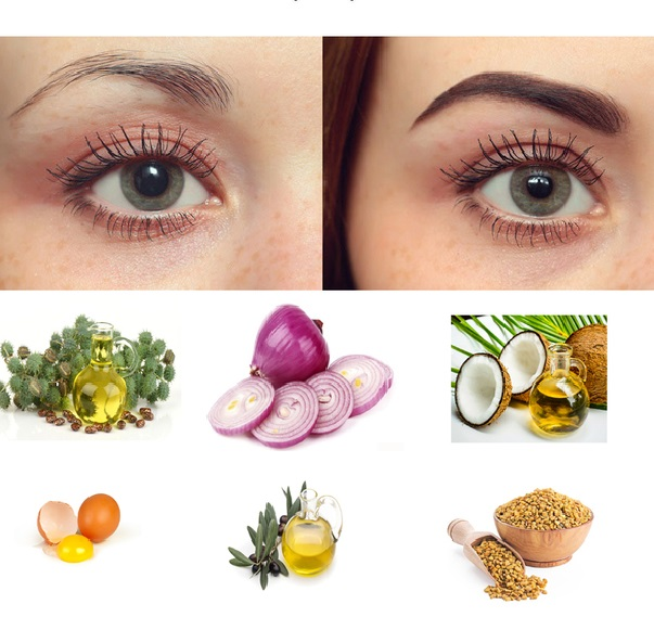 thick-eyebrows.-1 10 Tips for Gorgeous Natural Makeup Looks in 2021