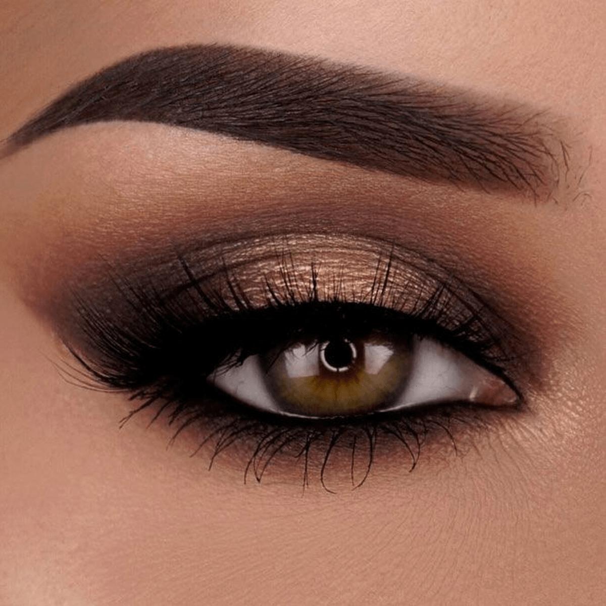 Basic-Smokey-Eye 60+ Hottest Smokey Eye Makeup Looks in 2020