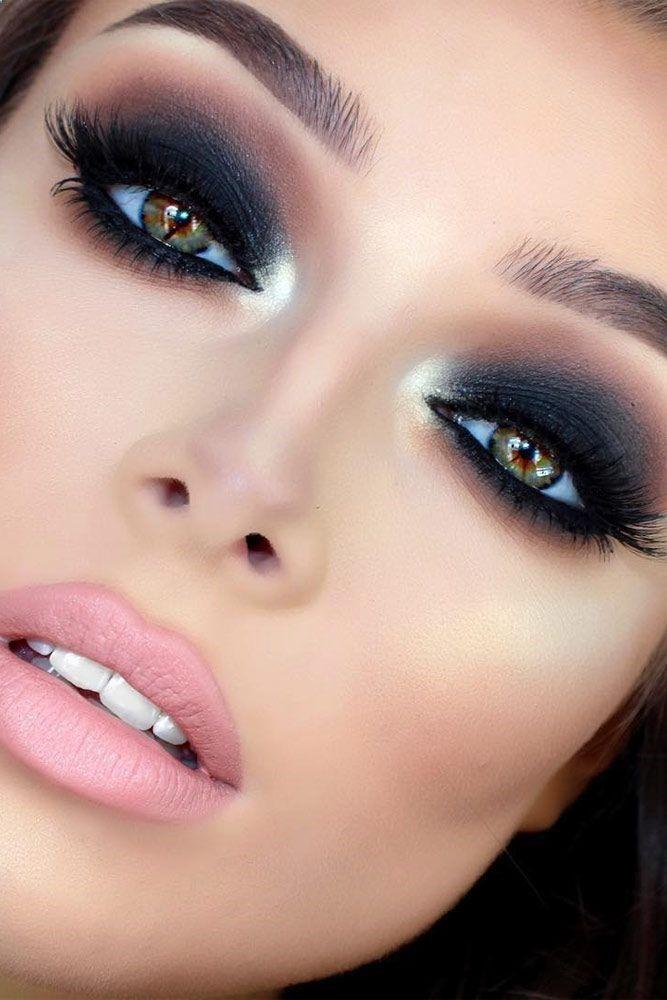 Black-Smokey-Eye. 60+ Hottest Smokey Eye Makeup Looks in 2021