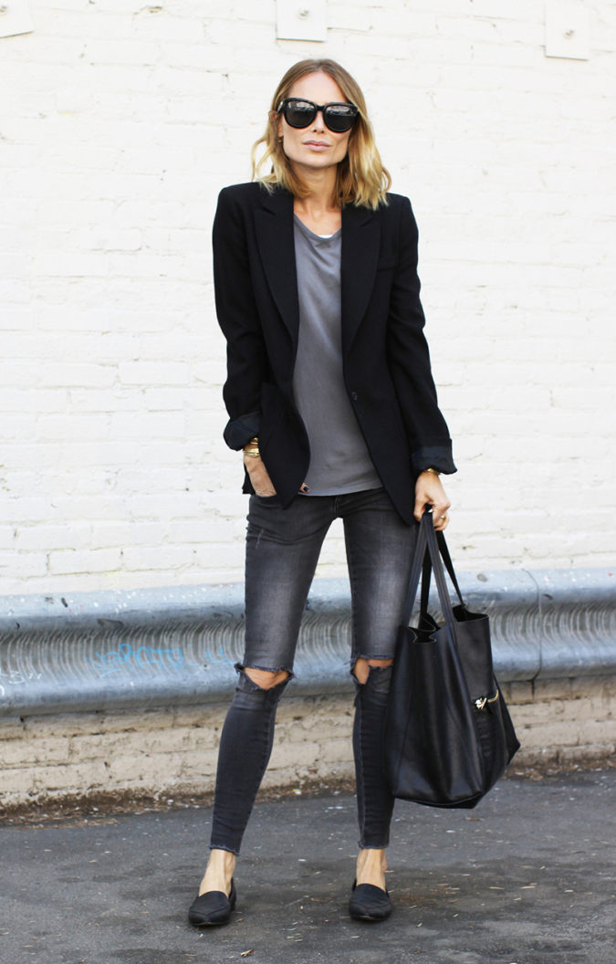 Blazer-and-Jeans.-1-675x1056 120+ Fashion Trends and Looks for College Students in 2020/2021