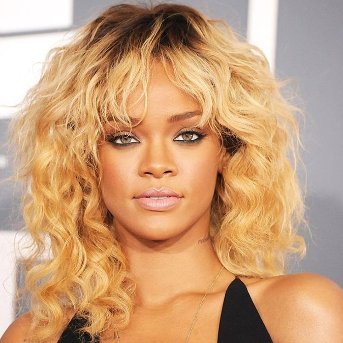 Bleached-Yellow-Blonde.-3-675x675 +35 Hottest Hair Color Trends for Dark-Skinned Women