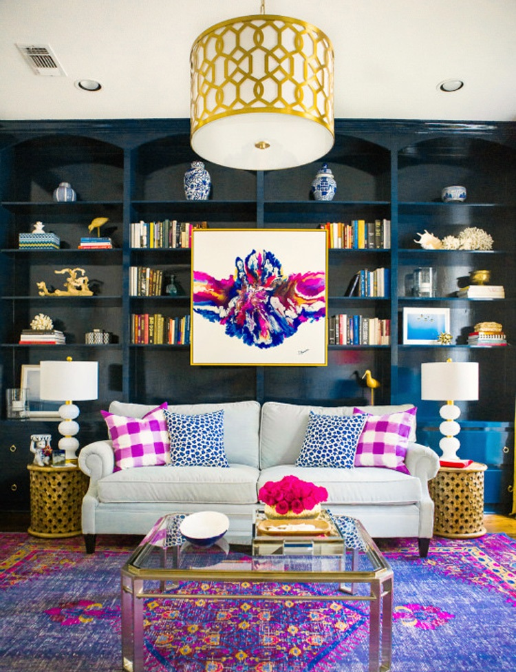 Bold-living-room-2 70+ Hottest Colorful Living Room Decorating Ideas in 2021