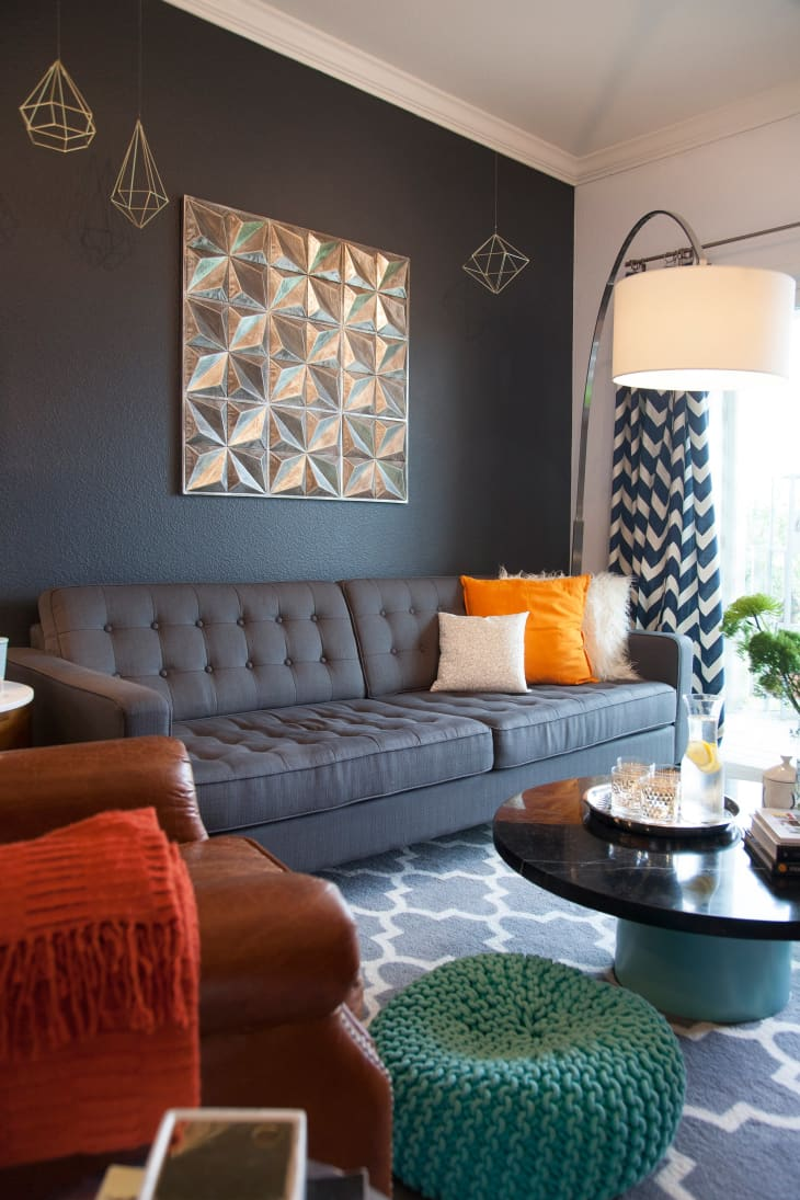 Bold-living-room.. 70+ Hottest Colorful Living Room Decorating Ideas in 2021