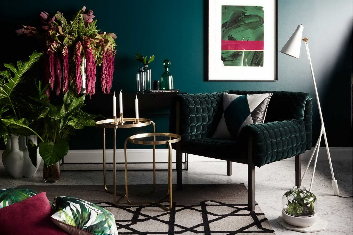 Bold-living-rooms-1 70+ Hottest Colorful Living Room Decorating Ideas in 2021