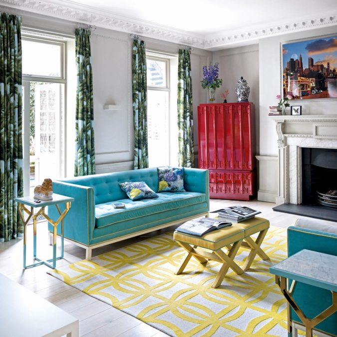 Bold-living-rooms..-675x675 70+ Hottest Colorful Living Room Decorating Ideas in 2021